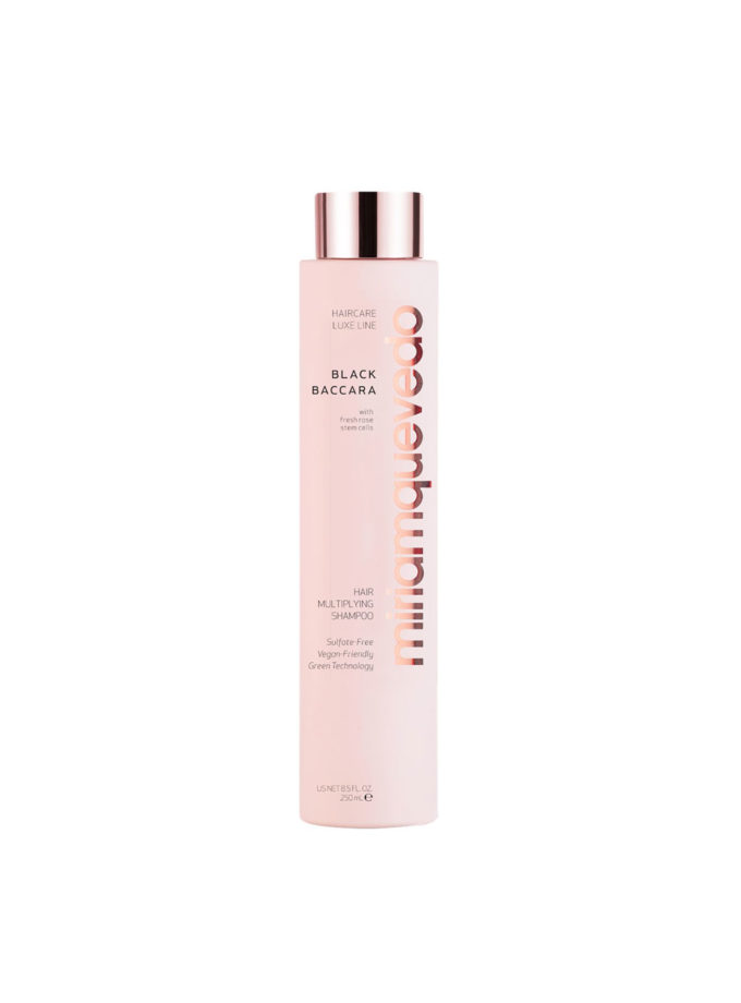 Black Baccara Hair Multiplying Shampoo di Miriamquevedo